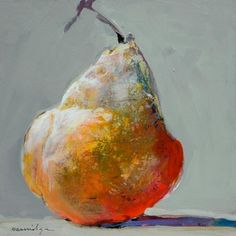 "Robert Burridge - ""You can't paint a bad pear."""