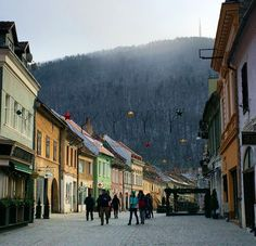 «-10! ☃ #brasov» Street View, Winter, Instagram Posts, Romania, Winter Time, Winter Fashion