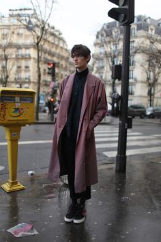 Paris Men's Fashion Week street style.