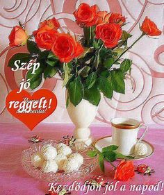 Good Morning, Cooking Recipes, Table Decorations, Chest Workouts, Album, Photos, Tulips, Figurative, Buen Dia