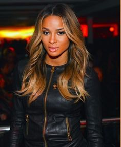 Ciara Hairstyles Pinterest Deborahpraha ♥ Singer Ciara With Bright Blonde Ombre