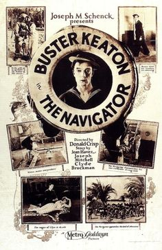 The Navigator 1924 established Buster as a major filmmaker