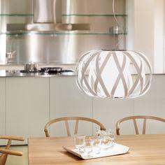 Rolanda-S, de Bover. Iluminación - Life for Home Pendant Chandelier, Pendant Lighting, Glass Diffuser, Kitchen Lighting, Decoration, Lighting Design, Furniture Design, Table Lamp, Ceiling Lights