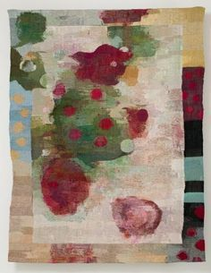 'Loose-Related and Coordinating' by Finnish artist and designer Inka Kivalo. Gobelin tapestry, 185 x 150 cm. via Finnish Designers Fabric Rug, Fabric Painting, Modern Tapestries, Textiles, Textile Sculpture, Feminist Art, Tapestry Weaving, Textile Artists, Texture Art