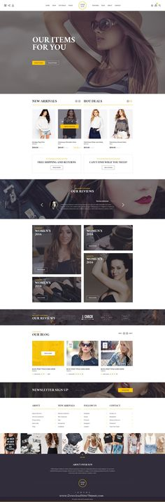 Over Sun PSD Template is perfect solution for any type of eCommerce website. It has 20 well organized PSD files.