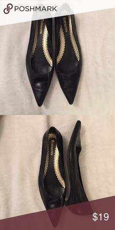 Black pointed flats Black pointed shoes with tiny heel. Restricted Shoes Flats & Loafers