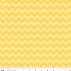 CHEVRON STRIPE SMALL - TONE on TONE - YELLOW - RILEY BLAKE COTTON FABRIC in Crafts, Fabric | eBay
