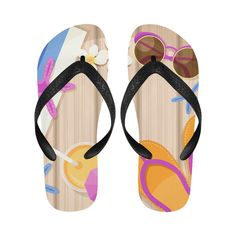 Summer Fun Flip Flops #stellasaksa #summer #fun #flipflops