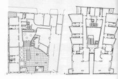 Luigi Moretti   Casa Girasole Plans 1949