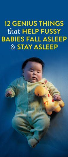 12 Genius Things That Help Fussy Babies Fall Asleep and Stay Asleep