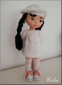 Mulan Doll, Disney Animator Doll, Disney Dolls, Tiana, Merida, Aladdin, Newberry Dolls, Disney Animators Collection Dolls, Knit Crochet