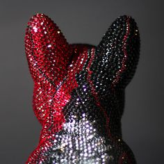 French Bruno by J. French Bulldog, Butterfly, Bling, Glamour, Crystals, Art, Bulldog Frances, Butterflies, Crystal