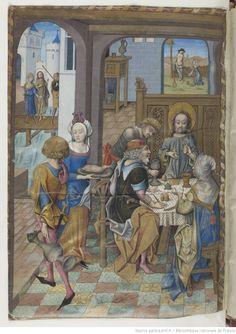 Hours of Charles d'Angoulême. Horae ad usum Parisiensem, 1475-1500. BnF MS Latin 1173, fol. 113v