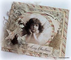 Live & Love Crafts' Inspiration and Challenge Blog: Christmas angel