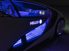 toyota's concept-i seamlessly monitors driver attention and road conditions, increasing automated driverless support and helping navigate dangerous situations.