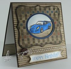 Birthday card by STampin Up