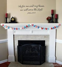Star Spangled (Paint Chip) Banner - Tutorial