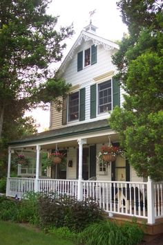 CLASSIC FARMHOUSE WITH WRAP AROUND PORCH : Home Exterior : Rate My Remodel : HGTV Remodels