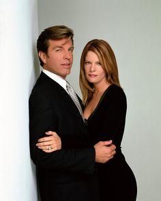 Peter Bergman (Jack Abbott), Michelle Stafford (Phyllis Summers) - Les Feux de l'Amour