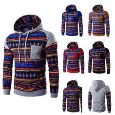 Aztec Print Hoodies - Hoodies - eDealRetail - 1