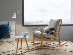 """<p>Rocking-chair «Dilma», L65 x H82 x P101 cm,479 euros, <a href=""""http://www.marieclairemaison.com/,am-pm-la-redoute,200412,16139.asp"""" title=""""AM-PM La Redoute"""" class=""""internal""""..."""