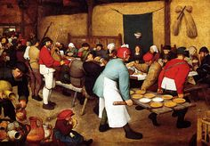 Pieter Bruegel the elder,The Peasant Wedding Banquet,1568