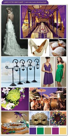 new orleans style party decorations | Love in the Big Easy - New Orleans Inspiration : wedding features ...