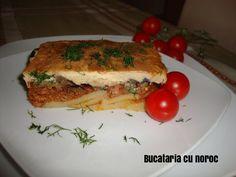 Musaca greceasca - Bucataria cu noroc Noroc, Sandwiches, Paninis