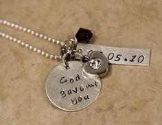 God Gave Me You Necklace - PolkaDaisy | PolkaDaisy