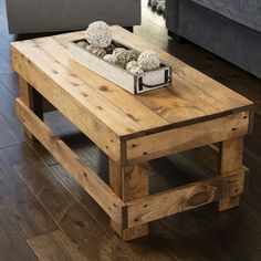 Wooden Pallet Projects, Diy Pallet Furniture, Wooden Pallets, Wooden Diy, 1001 Pallets, Pallet Crafts, Recycled Pallets, Handmade Wood Furniture, Furniture Design