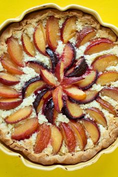 NYT Cooking: This beautiful plum tart, adapted from the pastry chef Alex Levin of Osteria Morini in Washington, brings together a sablé butter crust flavored with vanilla bean; colorful, juicy plum slices; and an almond cream filling with a lovely flavor that complements the fruit. Using confectioners' sugar in the crust gives you a texture that is finer and smoother than if you use ...