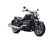 Triumph has just announced two new versions of the 2013 Rocket III, the touring and roadster version. A look at photographs, specifications and price. Best Cruiser Motorcycle, Motorcycle News, Beginner Motorcycle, Motorcycle Engine, Motorcycle Parts, Triumph Rocket, Cool Motorcycles, Triumph Motorcycles, Triumph Speedmaster