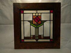 Craftsman styled window