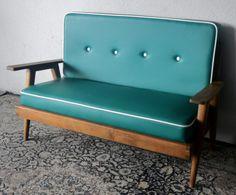 Vintage Sofa in Tosca Green---love love love