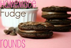 Fudge Rounds -- these are SO much better than the store bought!