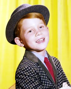Another Happy Days alum, Ron Howard first got his start as adorable redhead Opie Taylor on The Andy Griffith Show before moving onto his role as Richie Cunningham. - GoodHousekeeping.com