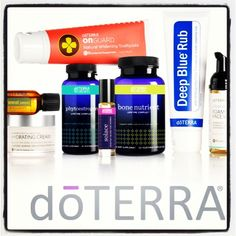 Some great doTerra products...