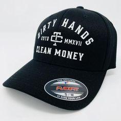 Dirty Hands Clean Money - Flexfit (Curved Brim) ba39f4c57fb