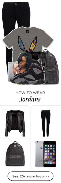 """""""Show Stopper"""" by aniahrhichkhidd on Polyvore featuring MCM, Bordeaux and Boohoo"""