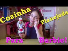 Como fazer cozinha planejada para barbie - YouTube