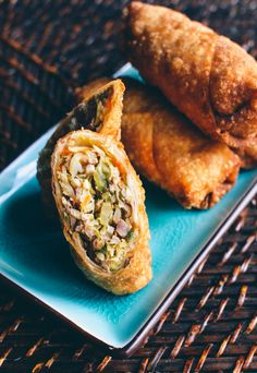 Homemade Egg Rolls, by thewoksoflife.com. Here's a 100% accurate copycat takeout recipe to make them at home!
