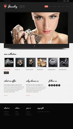 Design eats time... Get Template Espresso! That's Joomla #template // Regular price: $75 // Unique price: $4500 // Sources available: .PSD, .PHP #Joomla #Responsive #Jewelry #Jewels #Rings #Bracelets #Necklaces