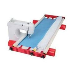 Multi-Frame Machine Quilting System For Most Sewing Machines