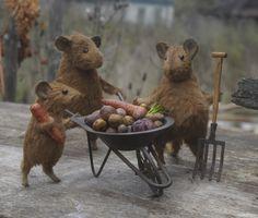 Harvest time. From gallery of Russian artist Natasha@Fadeeva.com