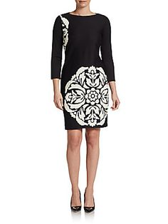 Medallion-Print Dress $62.99 at Saks.com