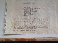 Mum's famous boiled pineapple fruitcake