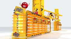 M&M's Mars Event In Carrefour Festival City by Mostafa Shehatta, via Behance