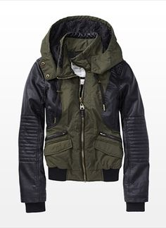 awesome bomber jacket for fall! must have.