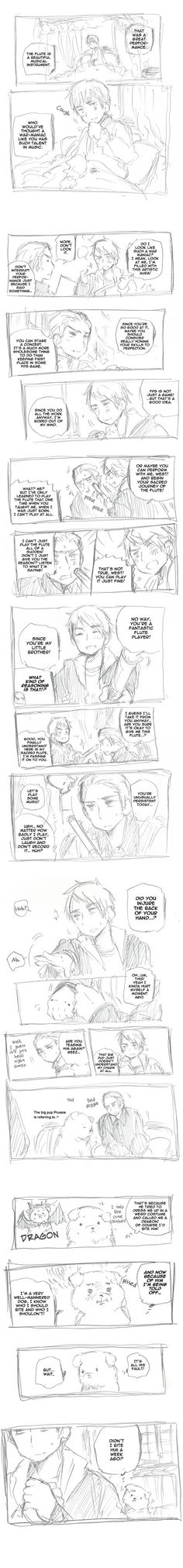 Prussia comic part 2/2 - Damnit this comic makes me want to curl up into a ball and cry every single time.