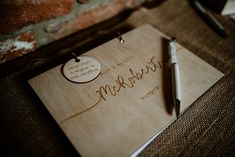 Wooden Guest Book Fun Barn Wedding Kazooieloki Photography #WoodenGuestBook #GuestBook #Wedding